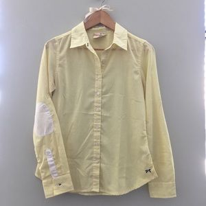 Tommy Hilfiger for Girls Yellow Button Down